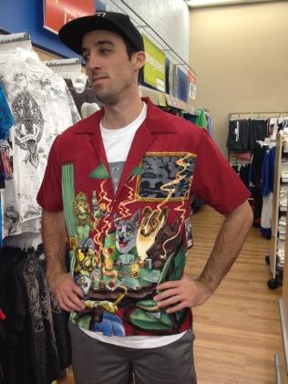 Frail, But check that sweet shirt!
